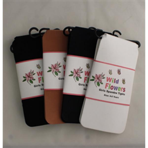 WILD FLOWERS GIRLS SPANDEX TIGHTS STYLE #1187-399