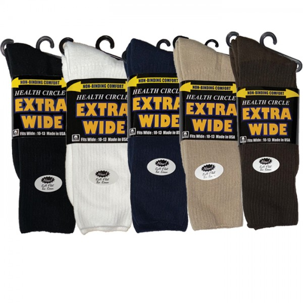 HEALTH CIRCLE EXTRA WIDE SOCK- STYLE 234CXW