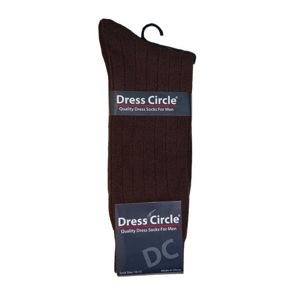DRESS CIRCLE MEN'S COTTON CREW- STYLE #264G-499
