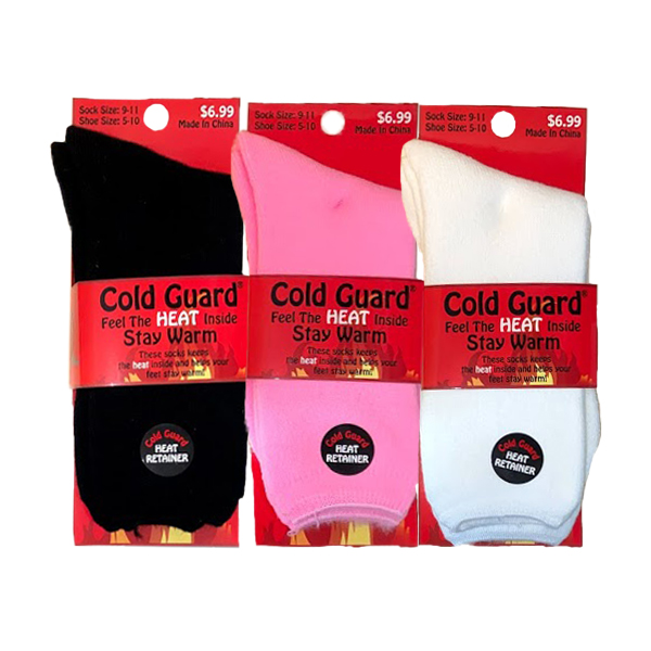 COLD GUARD HEAT RETAINER SOCK STYLE #641H-699