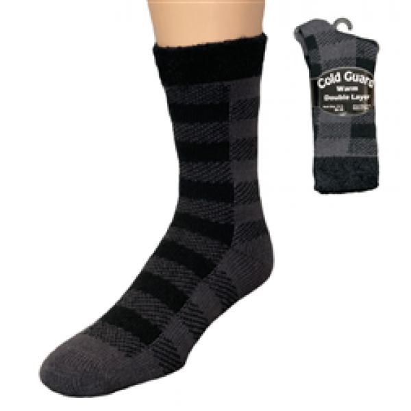COLD GUARD DOUBLE LAYER SOCKS STYLE: 241DLS