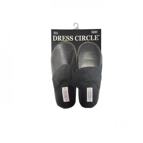 DRESS CIRCLE FLEECE LINED SCUFF STYLE #SL1299MPU