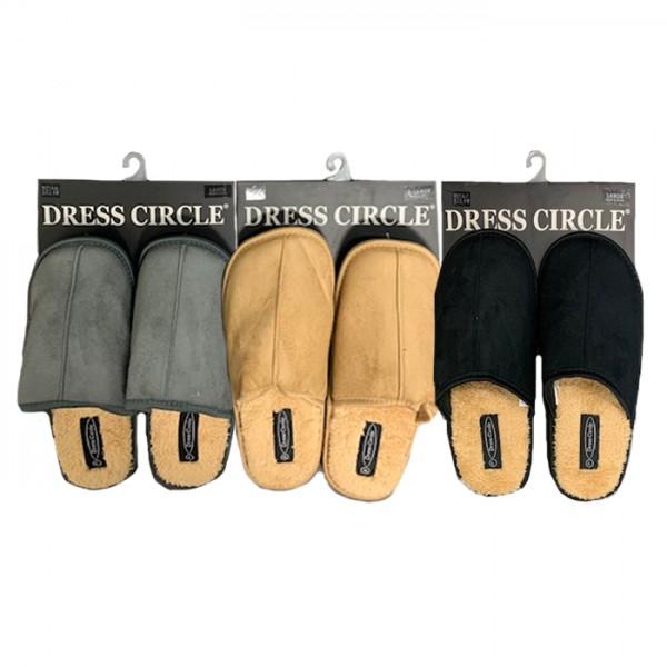 DRESS CIRCLE SHERPA LINED SCUFF STYLE #SL1299MS